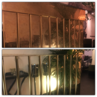 Brass Metal Polishing Repair | Before and after
