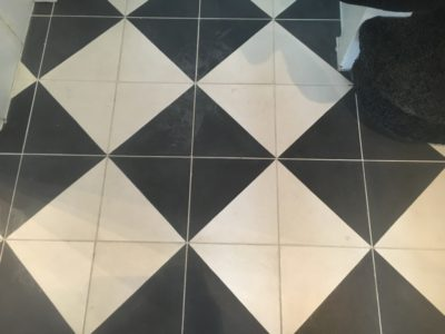 Cement Tiles Stain Removal Clean  