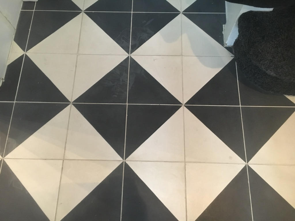 Coloured Cement Tiles Stain Removal Treatment Bespoke