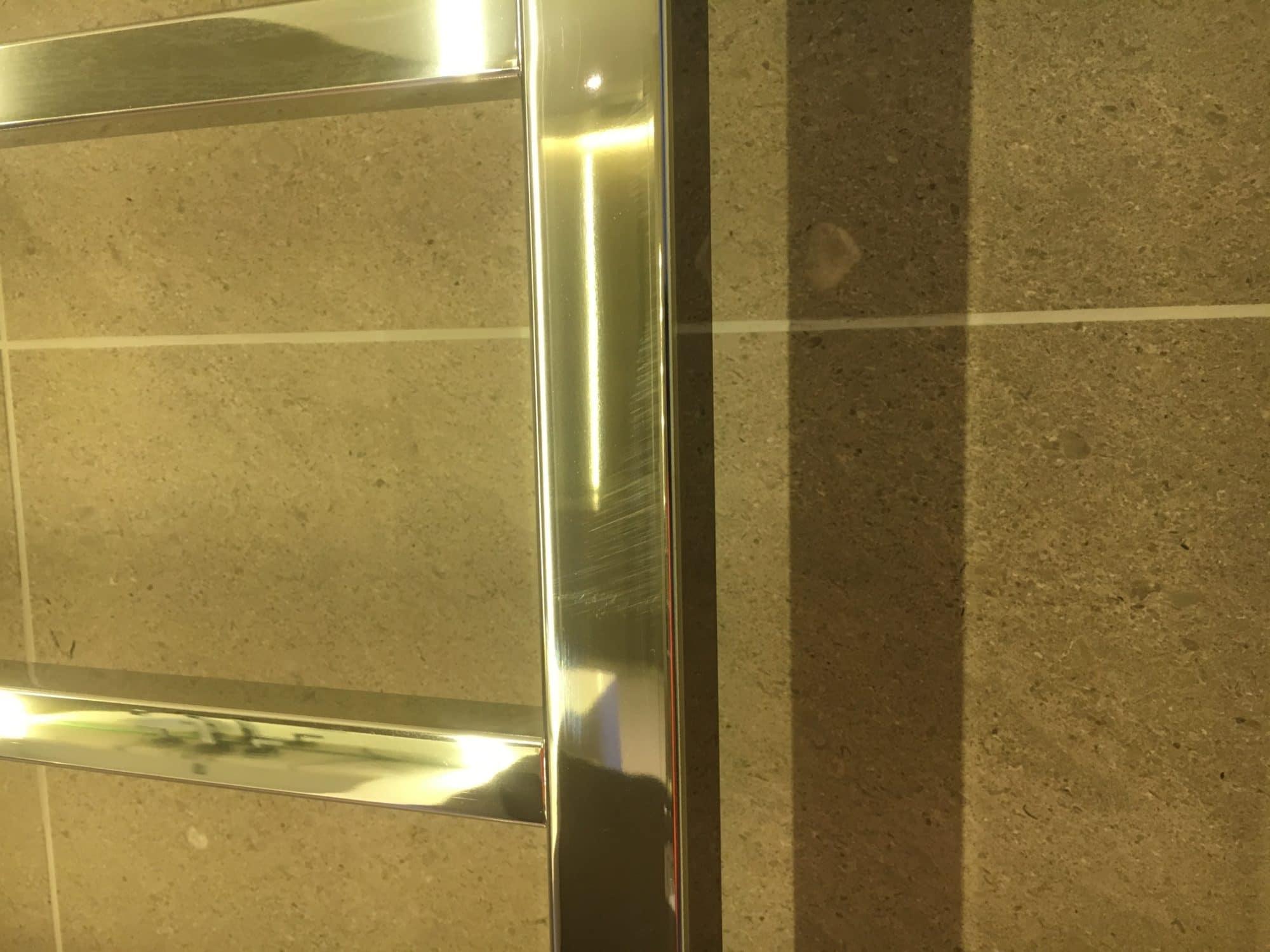Chrome Towel Rail Scratch Repair | Bespoke Repairs