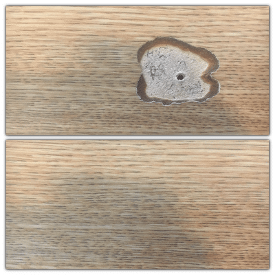 Formica Laminate Repair | Before and after