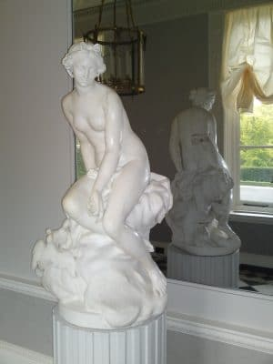 Marble Statue Restoration Protection | Marble statue was cleaned and protected in traditional methods