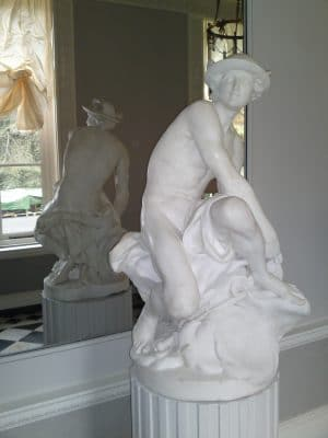 Marble Statue Restoration Protection | Another marble statue cleaned and protected