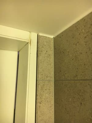 Marble Tile Chip Repair Restoration | front view after the repair is done