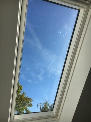 Velux Window Glass Scratch Repair | finished look