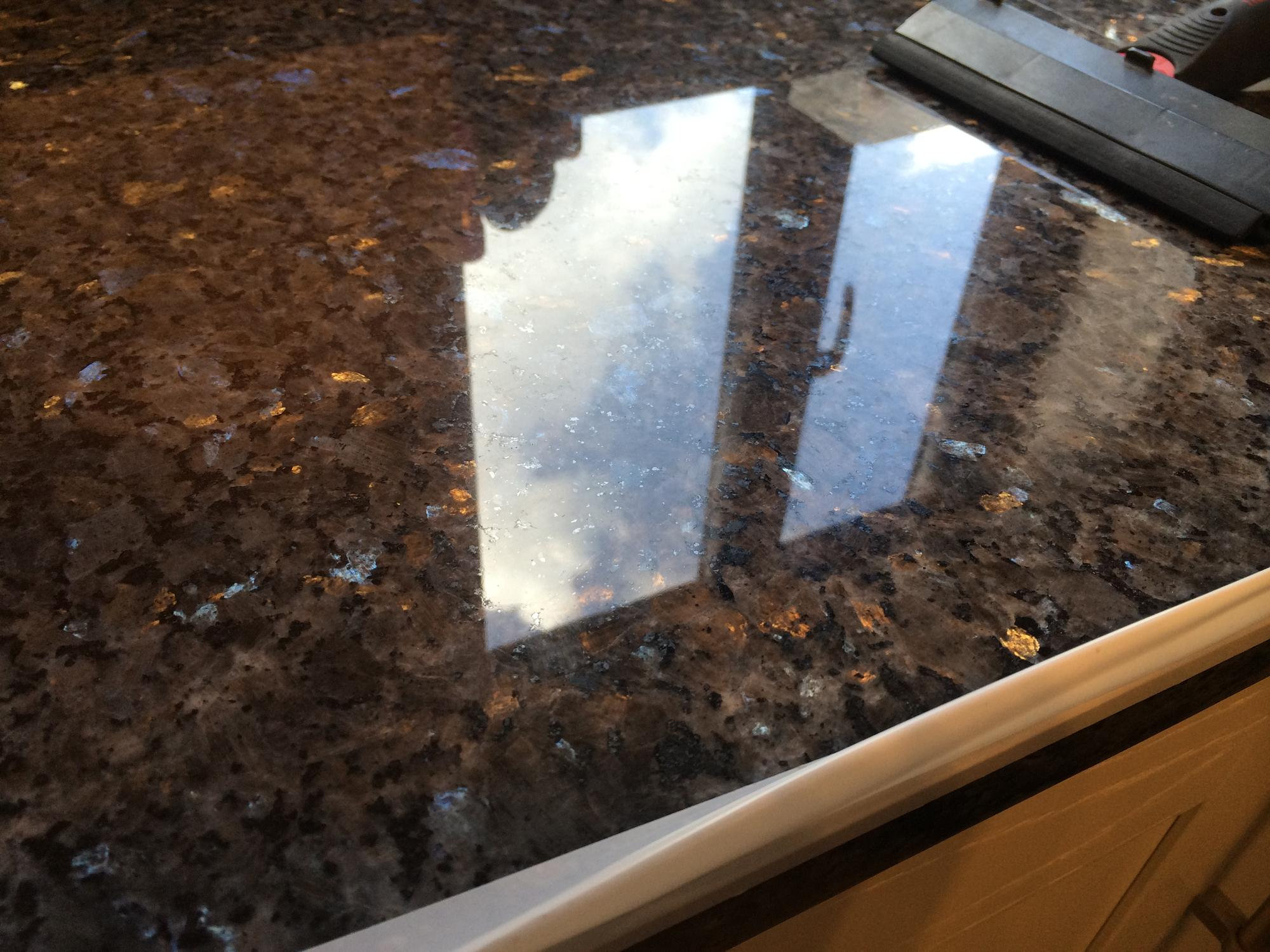 Blue Pearl Granite Scratch Removal