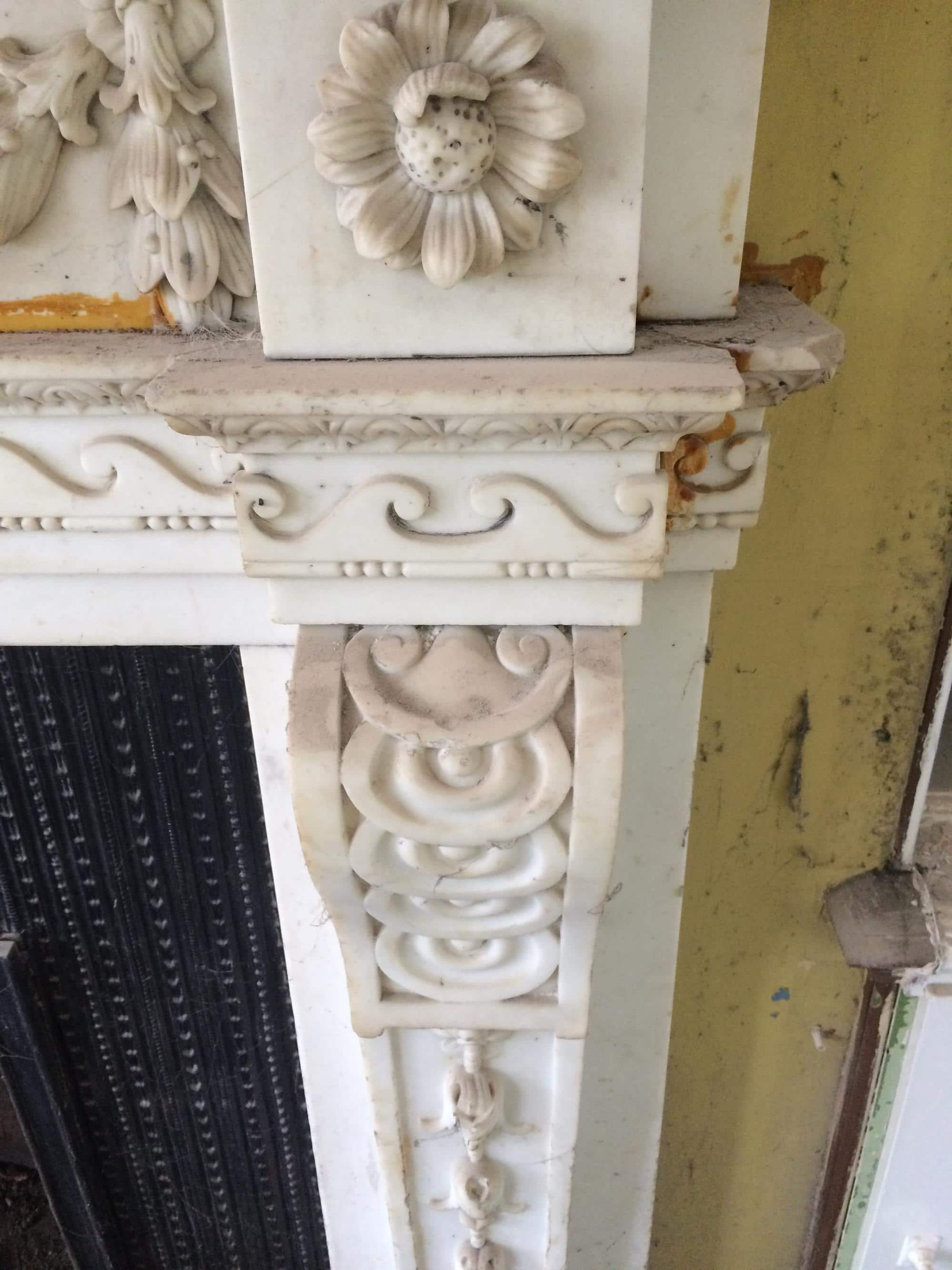 Marble Fireplace Restoration Fireplaces