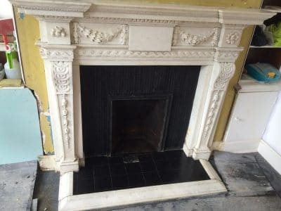 Classic Fireplace Complete Restoration Galiford Try   General view after the clean and repair.
