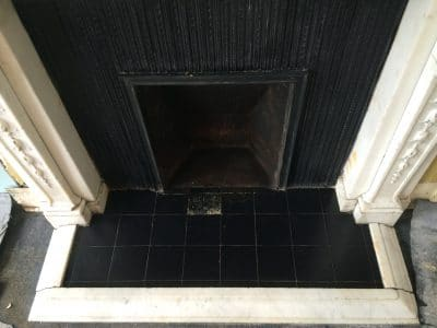 Classic Fireplace Complete Restoration Galiford Try | Chamber is breathing again and the stone frame is clean and tidy.