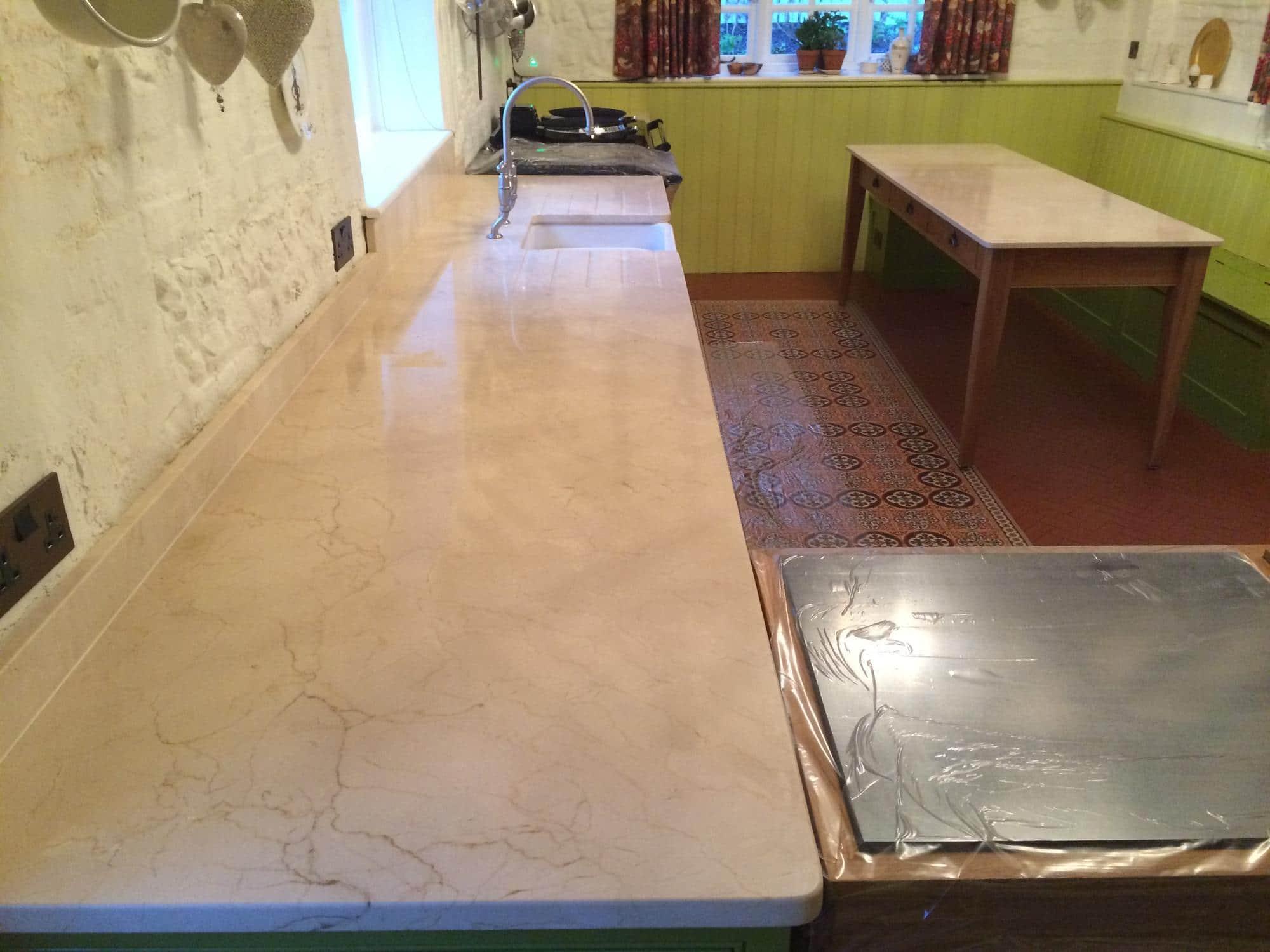 Marble Kitchen Worktop Amp Dining Table Restoration