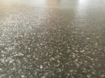 Kitchen Black Granite Surfaces Clean And Treatment | Close view of the texturing on the granite.