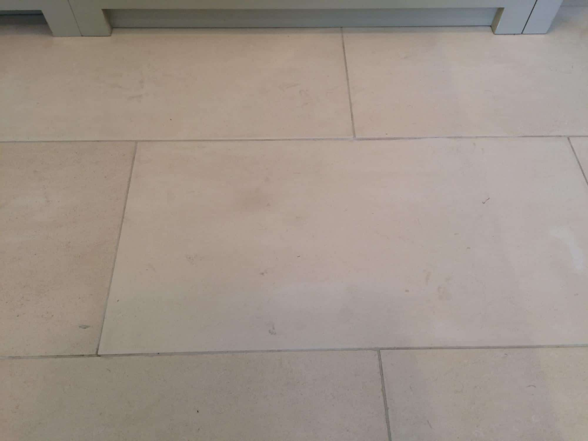 Kitchen Lime Stone Floor Tile Stain Removal Bespoke Repairs