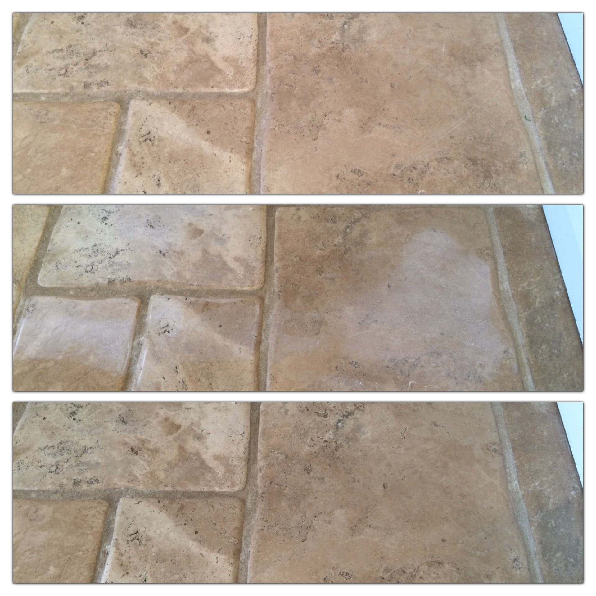 Stone Floor Tile Scratch Removal Bespoke Repairs