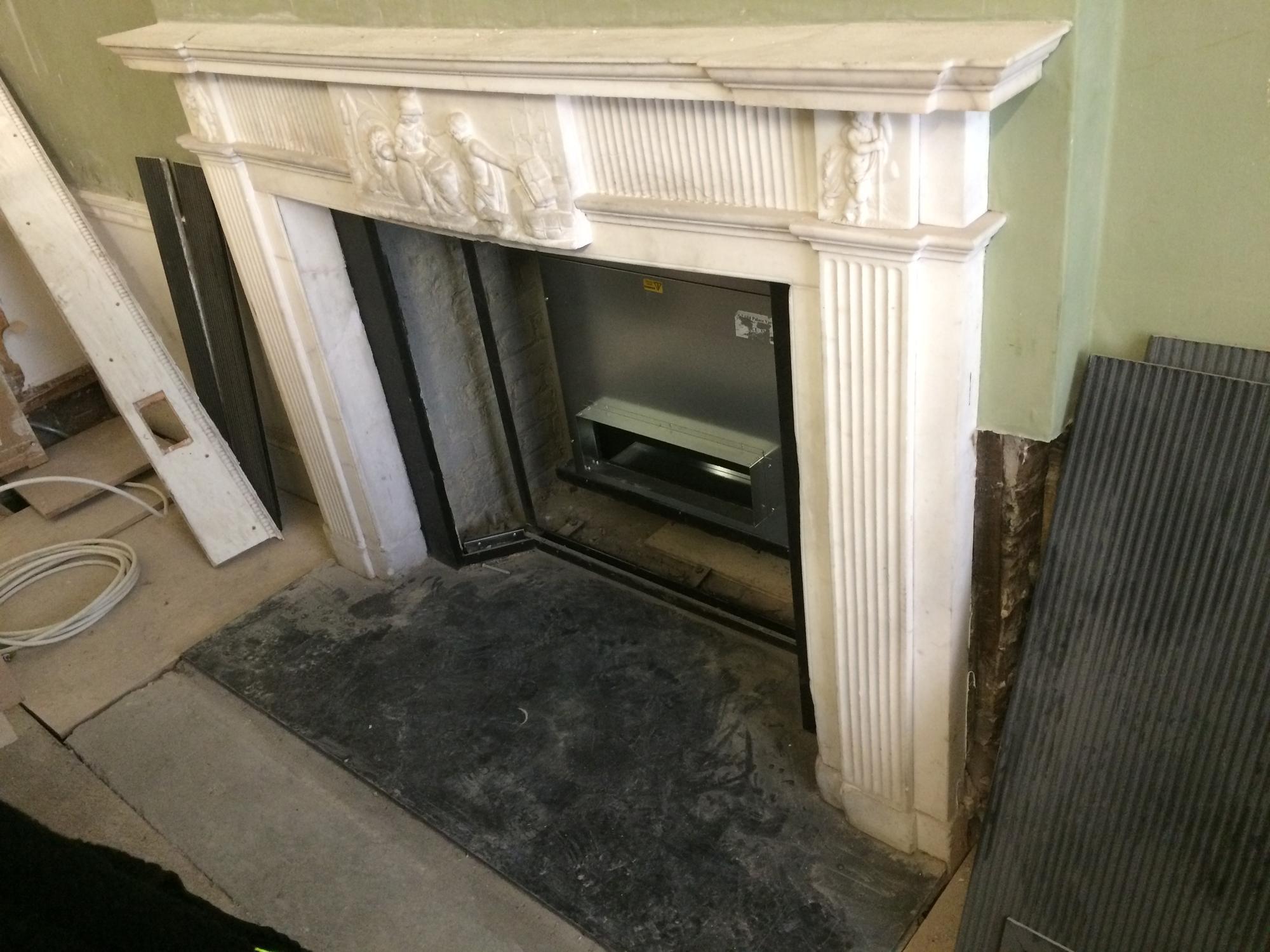 Bespoke Repairs Ltd Uk Stone Glass Repair Traditional Marble Fireplace Restoration