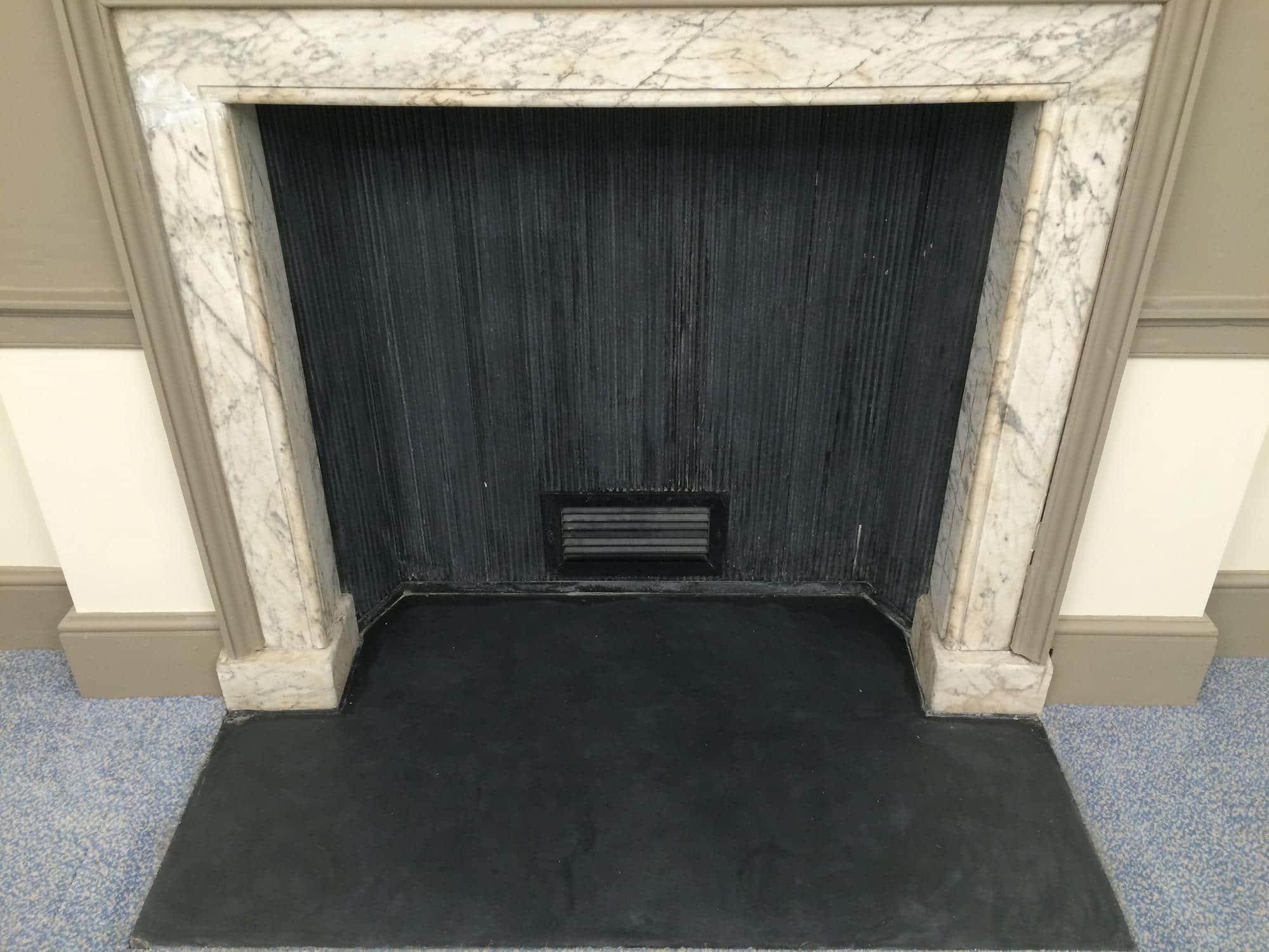 Bespoke Repairs Ltd Uk Stone Glass Repair Traditional Marble Fireplace Restoration 4